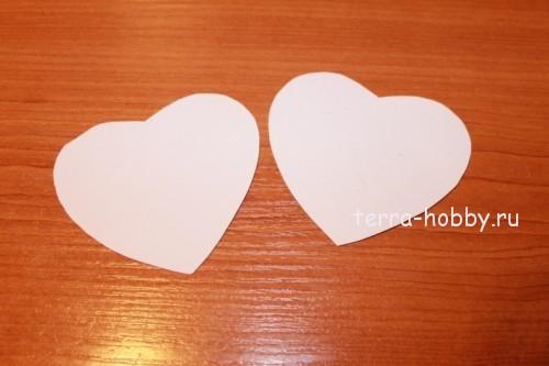 основа шкатулки сердце