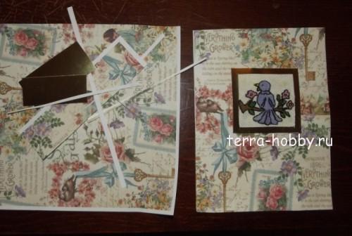 вышивка открытки с 8 марта