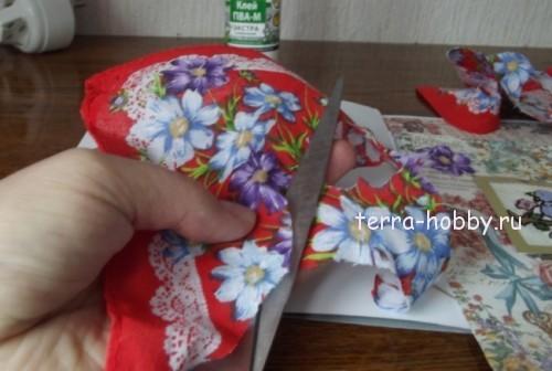 вырезать цветы для открытки