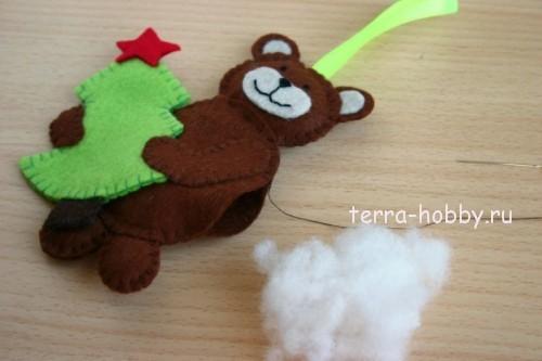 игрушки из фетра