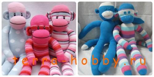 обезьянки из носков