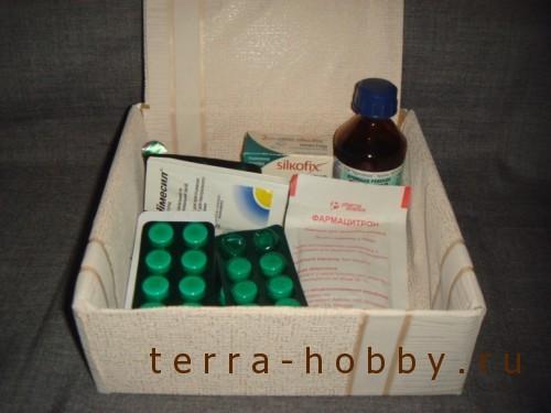 аптечка из коробки