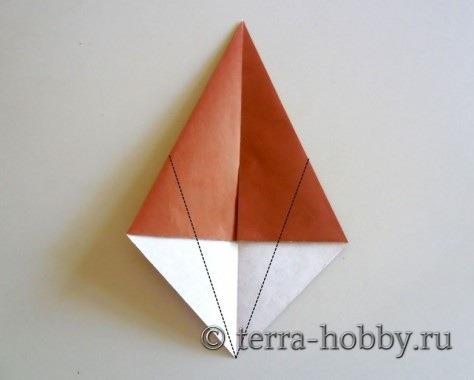 обезьяна оригами 2