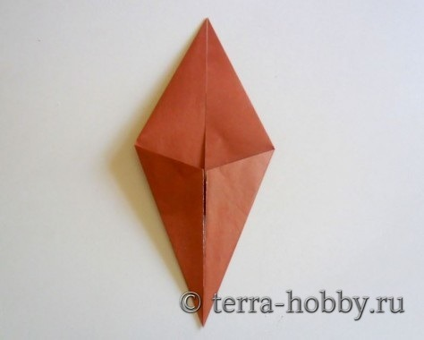 обезьяна оригами 3