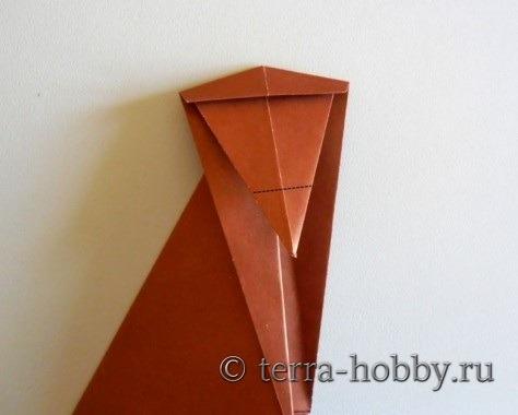 обезьянка оригами 10