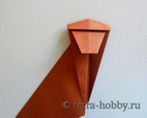 обезьянка оригами 11