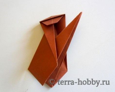 обезьянка оригами 14