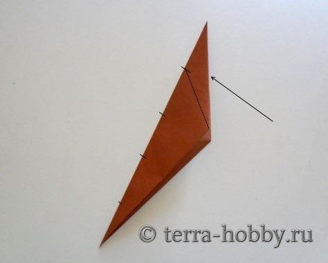 обезьянка оригами 5