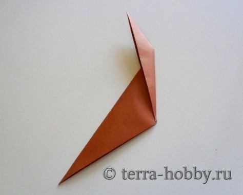 обезьянка оригами 6