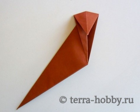 обезьянка оригами 8