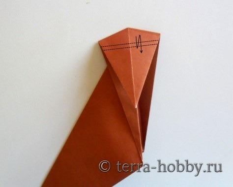обезьянка оригами 9