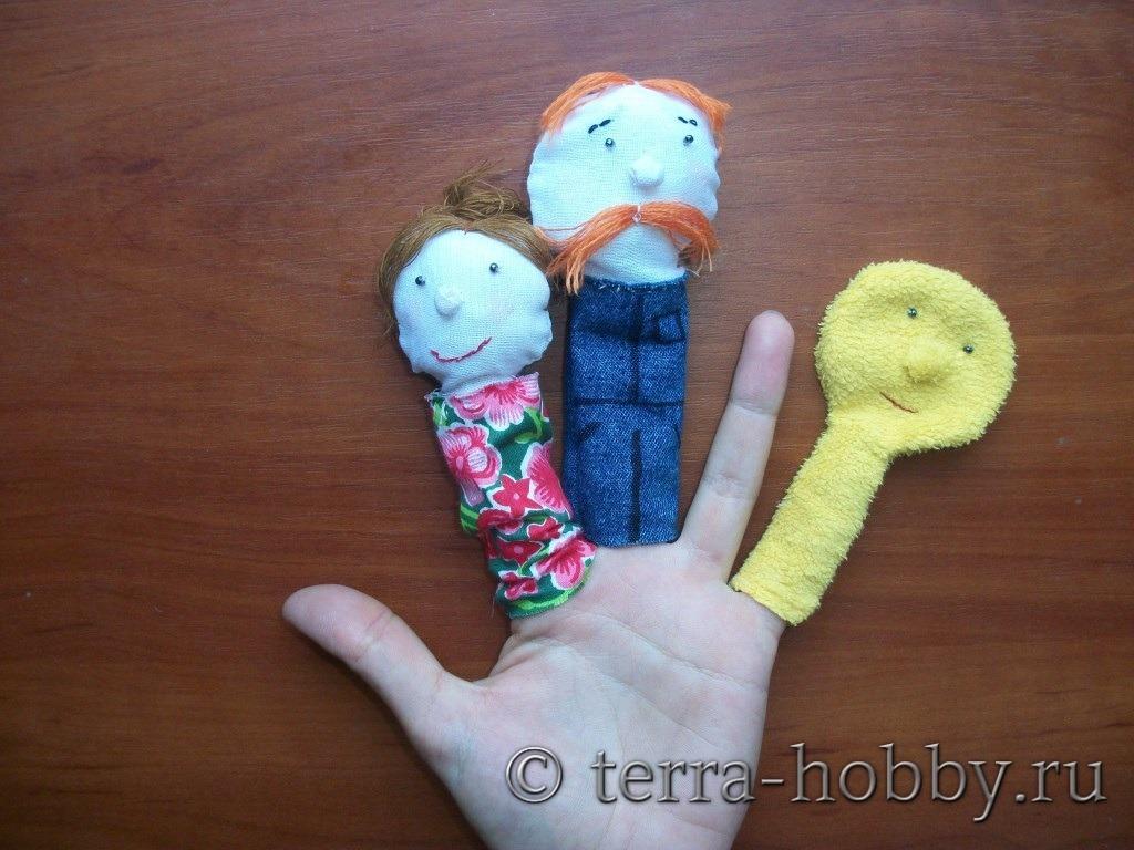 Театр пальчиковых кукол своими руками 96