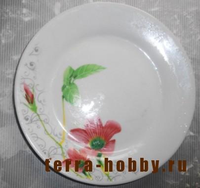 тарелка для поделки