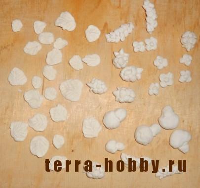 украшения из соленого теста