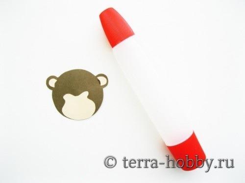 открытка обезьяна 10