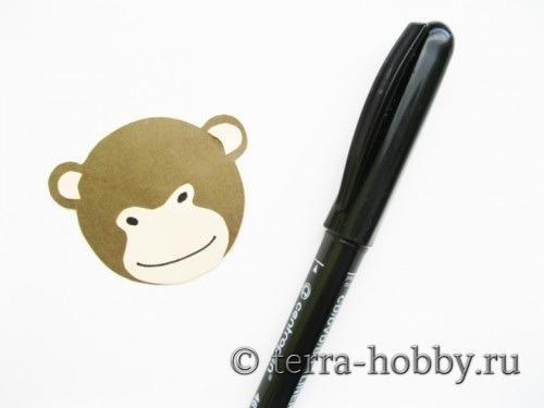 открытка обезьяна 11