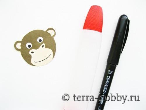 открытка обезьяна 12