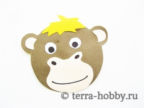 открытка обезьяна 13