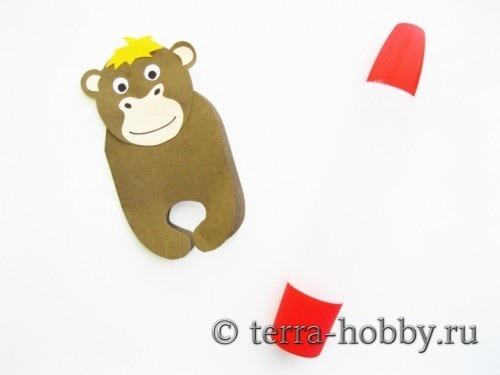 открытка обезьяна 14