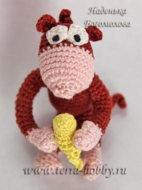 обезьянка вязаная