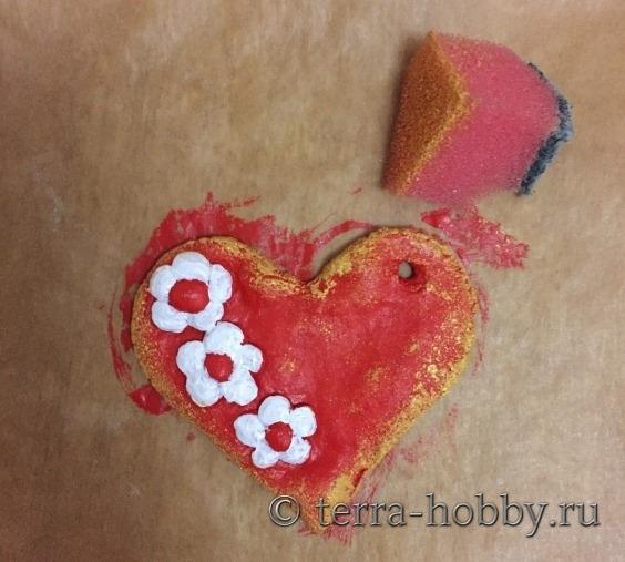 Сердечки из солёного теста своими руками фото 24