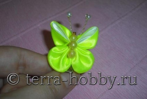 бабочка канзаши
