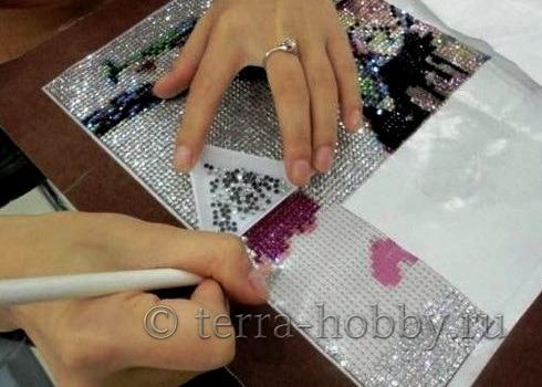 алмазная вышивка техника