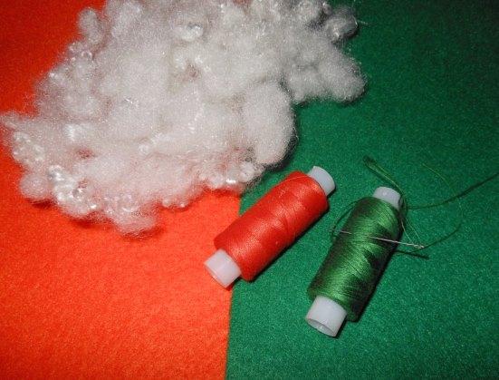 материал для шитья моркови