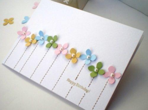 Оригинальные открытки с Днем рождения своими руками