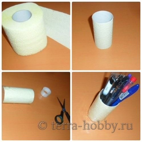 поделки из рулона туалетной бумаги