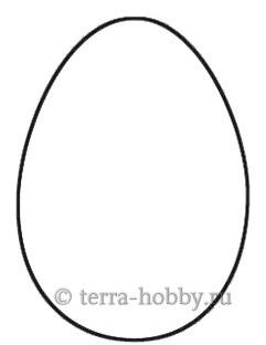 выкройка яйца