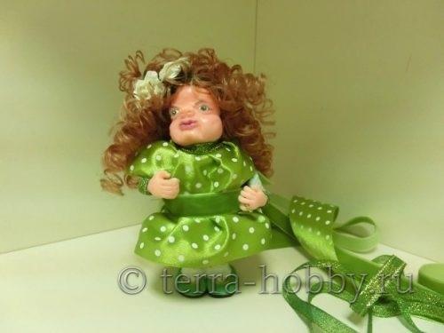 Кукла из полимерной глины своими руками