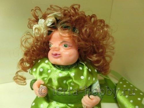 кукла из полимерной глины своими руками мастер-класс