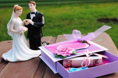 свадебные подарки своими руками