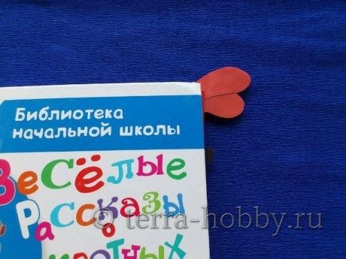 закладка оригами Энгри Бердс