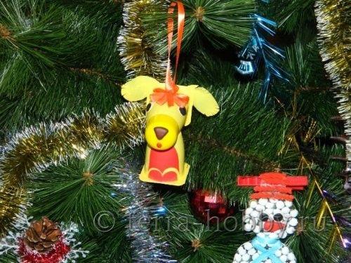 Миниатюра к статье Делаем собаку из подручных материалов: 2 замечательные идеи!