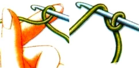 Как сделать воздушные петли крючком