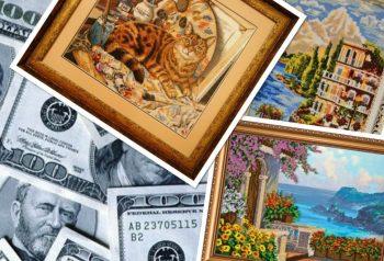 Миниатюра к статье Как удачно продавать вышитые картины крестиком