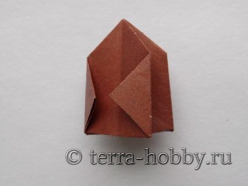 Делаем елочку из бумаги в технике оригами за 15 минут!
