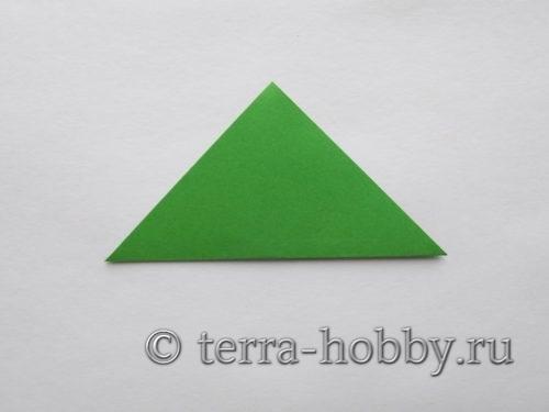 из квадрата сложить треугольник