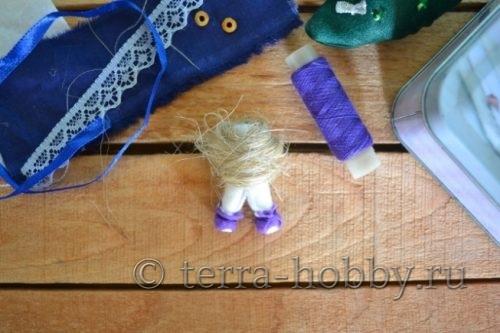 формирование тела куклы