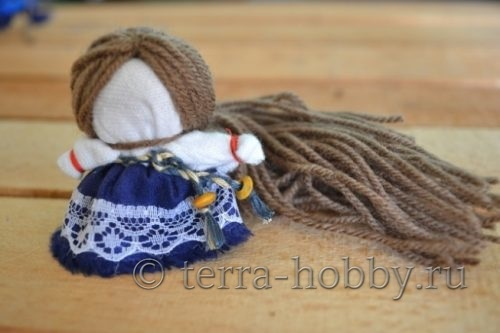 изготовление волос для куклы