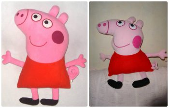 Миниатюра к статье Свинка Пеппа своими руками в 2 вариантах: мягкая игрушка и пазл