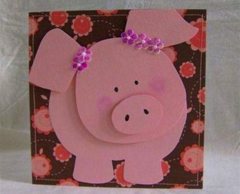 свинка из фоамирана