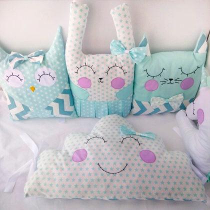подушки бортики для малышей