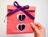 Миниатюра к статье Оригинальный подарочный конверт из фетра своими руками