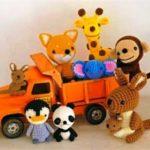 Миниатюра к статье Амигуруми — миниатюрные вязаные игрушки