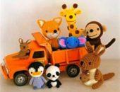 Миниатюра к статье Амигуруми - миниатюрные вязаные игрушки