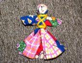 Миниатюра к статье Тряпичная кукла Отдарок на подарок своими руками
