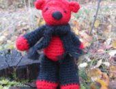 Миниатюра к статье Вязаная игрушка Медвежонок